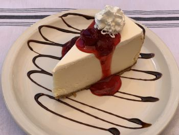 Jason's Beachside Grille, New York Cheesecake