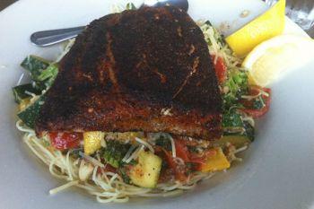 Jason's Beachside Grille, Salmon Filet